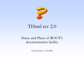 THtml rev 2.0