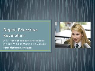 Digital Education Revolution