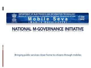 national  m-governance  initiative