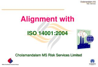 Alignment with  ISO 14001:2004
