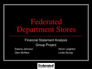 Federated Department Stores