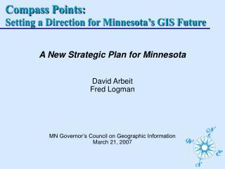 Compass Points: Setting a Direction for Minnesota's GIS Future