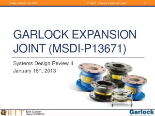Garlock Expansion Joint (MSDI-P13671)