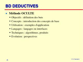 BD DEDUCTIVES