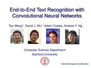 End-to-End Text Recognition with Convolutional Neural Networks