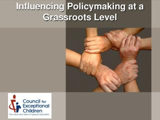 Influencing Policymaking at a Grassroots Level