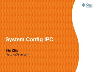 System Config IPC