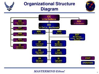 Organizational Structure Diagram