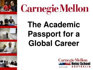 The Academic Passport for a Global Career