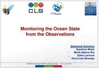 Monitoring the Ocean State from the Observations