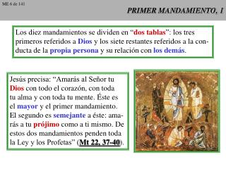 PRIMER MANDAMIENTO, 1
