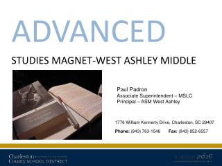 ADVANCED STUDIES MAGNET-WEST ASHLEY MIDDLE