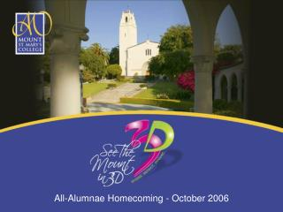 All-Alumnae Homecoming - October 2006