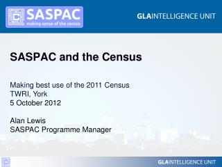 SASPAC and the Census