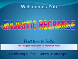 The Biggest revolution in recharge world