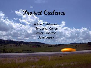 Project Cadence