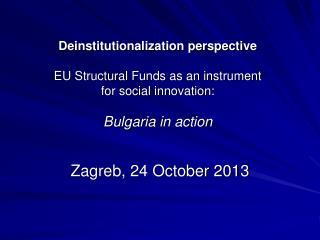Zagreb, 24 October 2013