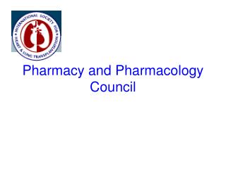 Pharmacy and Pharmacology Council
