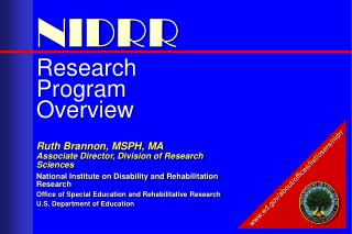 Research Program Overview