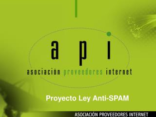 Proyecto Ley Anti-SPAM