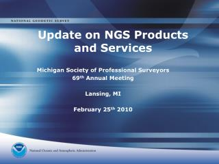 Update on NGS Products and Services