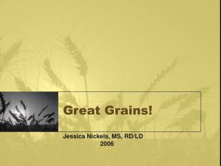 Great Grains!
