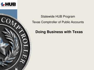 Doing Business with Texas