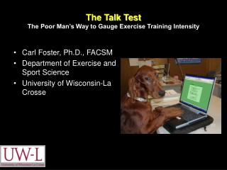 The Talk Test The Poor Man's Way to Gauge Exercise Training Intensity