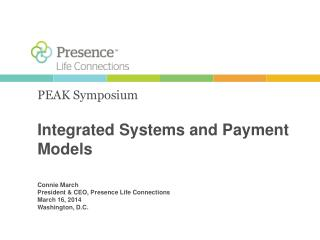 Integrated Systems and Payment Models