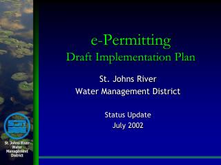 e-Permitting Draft Implementation Plan