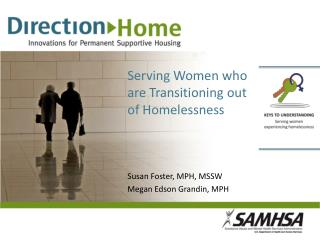 Serving Women who are Transitioning out of Homelessness