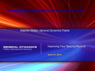 Improving Your Security Posture