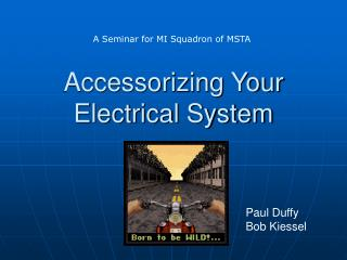Accessorizing Your  Electrical System