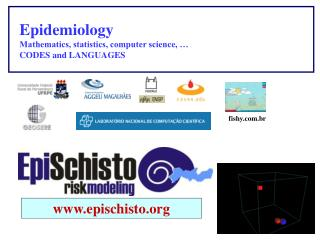Epidemiology Mathematics, statistics, computer science, …  CODES and LANGUAGES