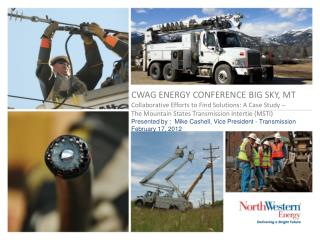 Transmission – electric and natural gas