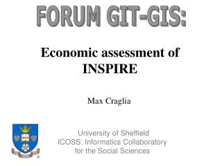 Economic assessment of INSPIRE