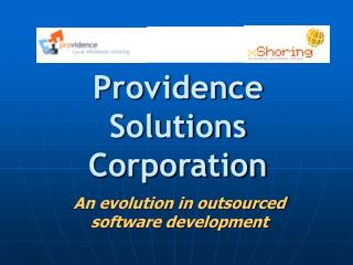 Providence Solutions Corporation
