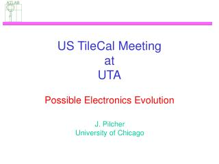 US TileCal Meeting at UTA