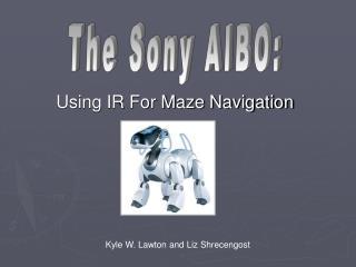 Using IR For Maze Navigation