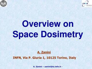 Overview on Space Dosimetry