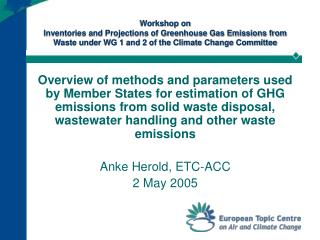 6.A - CH4 from solid waste  disposal sites - methods