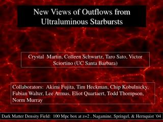 New Views of Outflows from Ultraluminous Starbursts