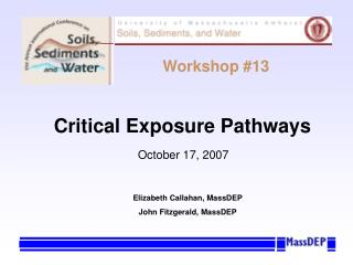 Critical Exposure Pathways