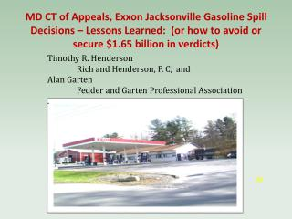 Timothy R. Henderson Rich and Henderson, P. C, and Alan Garten