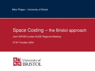 Mike Phipps – University of Bristol