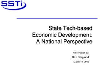 State Tech-based  Economic Development:  A National Perspective
