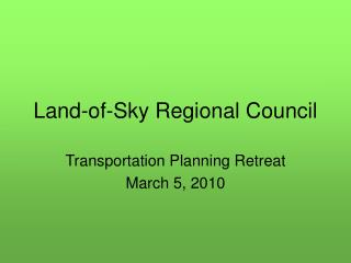 Land-of-Sky Regional Council