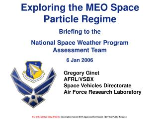 Exploring the MEO Space Particle Regime