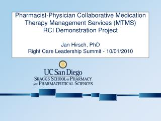 PharmD-MD Collaborative