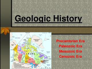 Geologic History